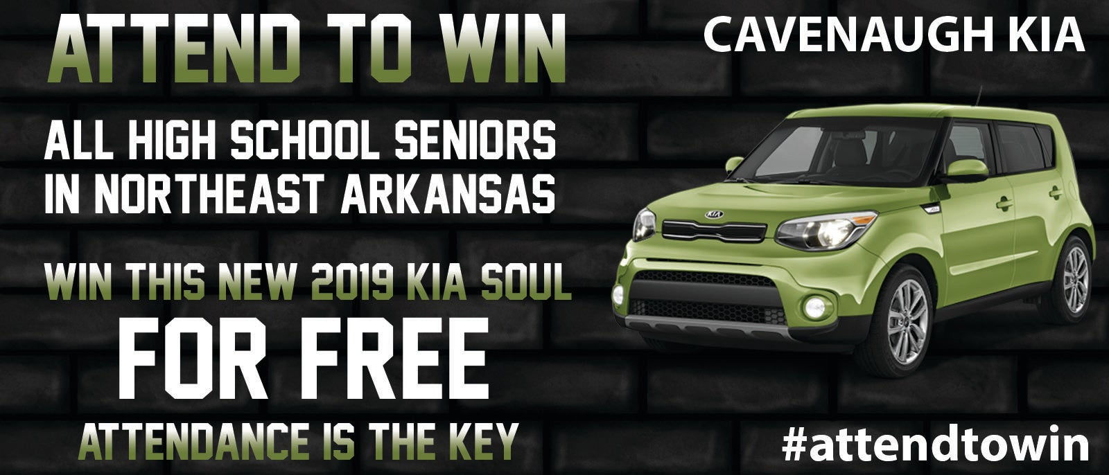 Free Car Giveaway >> Attend To Win